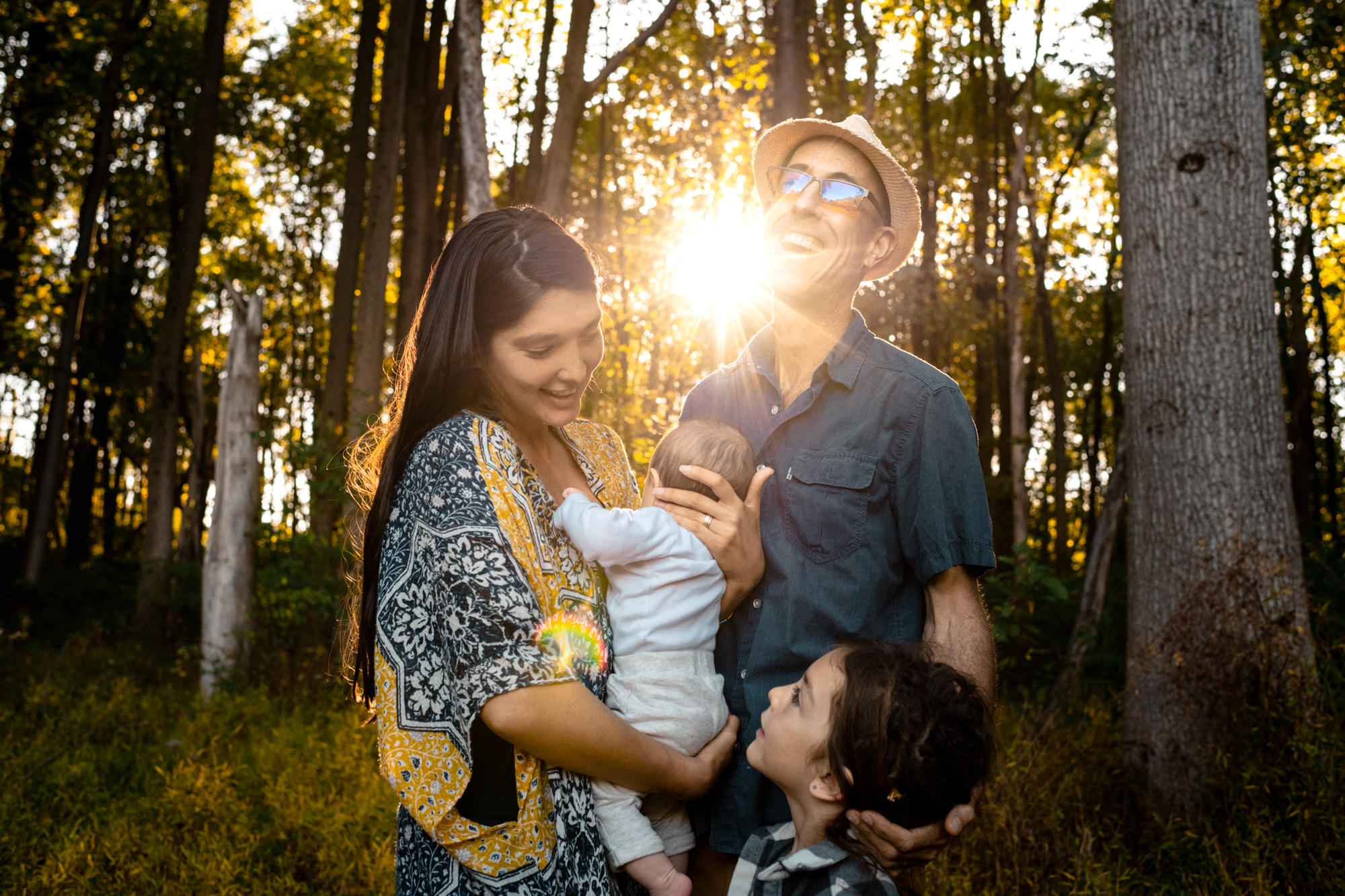 Natural family photographer