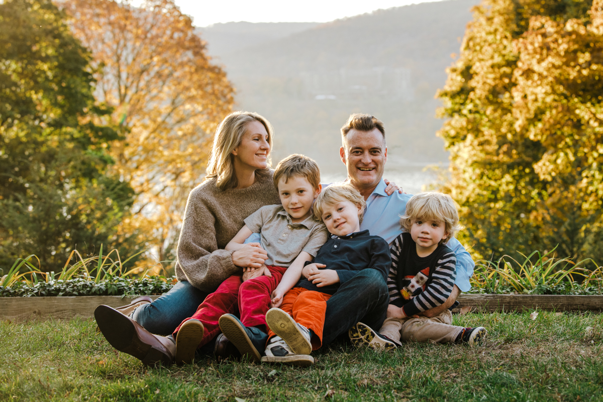 hudson valley Family portraits