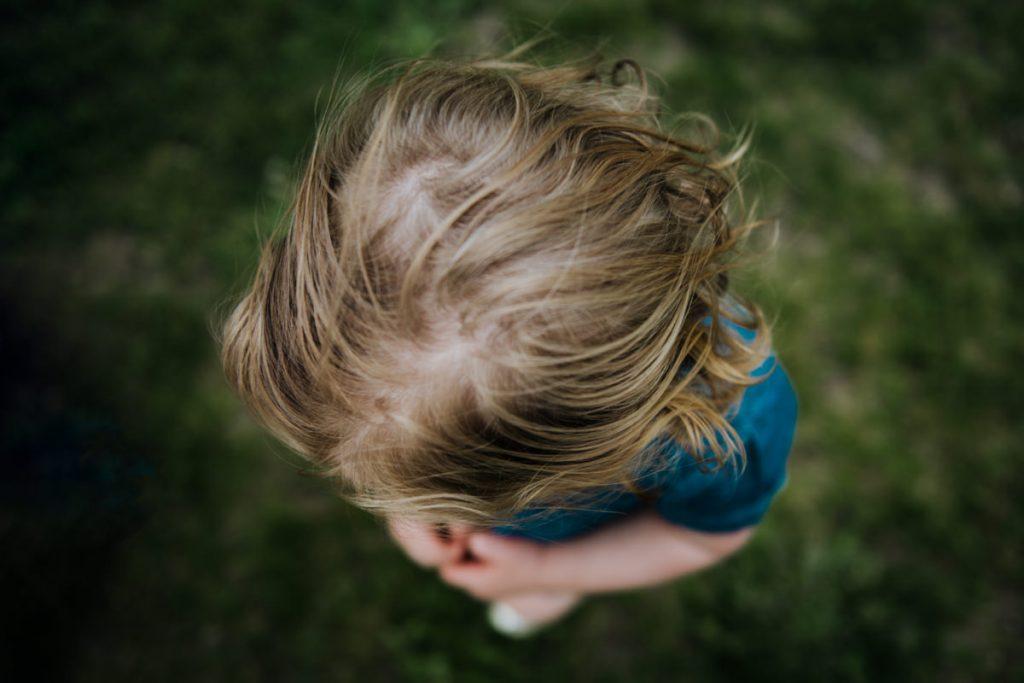 little toddler hair